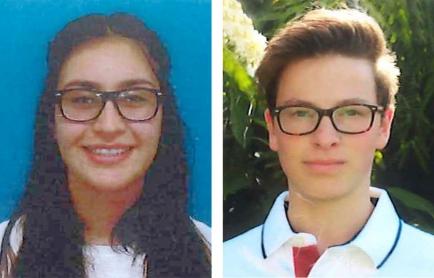 Inbound Milagros Rosa Celine Ismael (l.) und Outbound Robin Daniel Keller