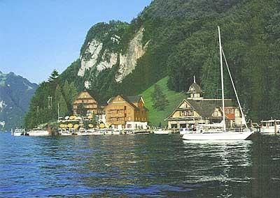 Familienplausch am/auf dem Vierwaldstättersee (mit Privatbooten)