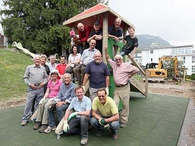 Gemeindienstprojekt 2011/12: Spielplatz-Sanierung II