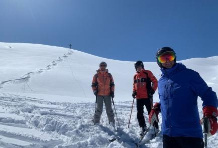 Traumhafter Skitag im Hoch Ybrig