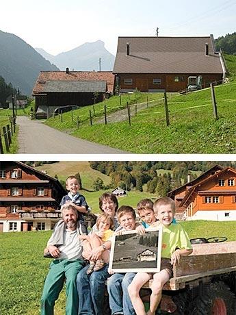 Gemeindienstprojekt 2014/15: Bergbauerfamilie Gisler, Riemenstalden